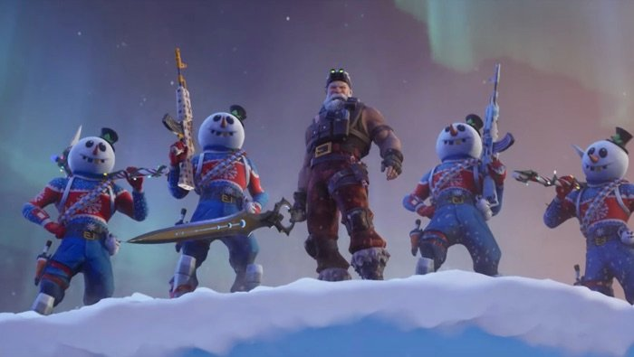 Fortnite Season 7 Launches with New Features, Locations, and a Badass Santa