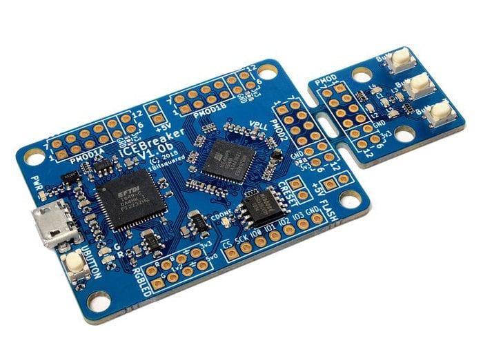 iCEBreaker FPGA open source development board