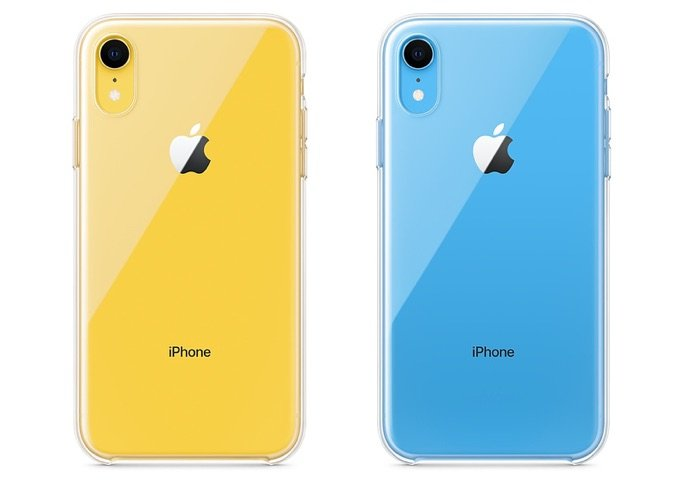 Apple's official iPhone XR Clear Case is finally here