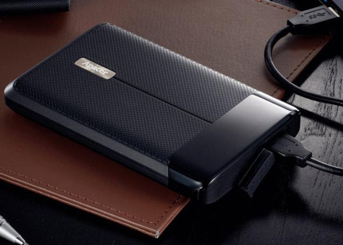 shockproof external hard drive