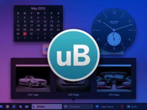 uBar 4 Toolbar for Mac