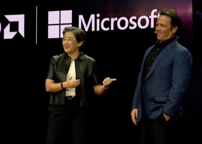 AMD Ces 2018 Microsoft