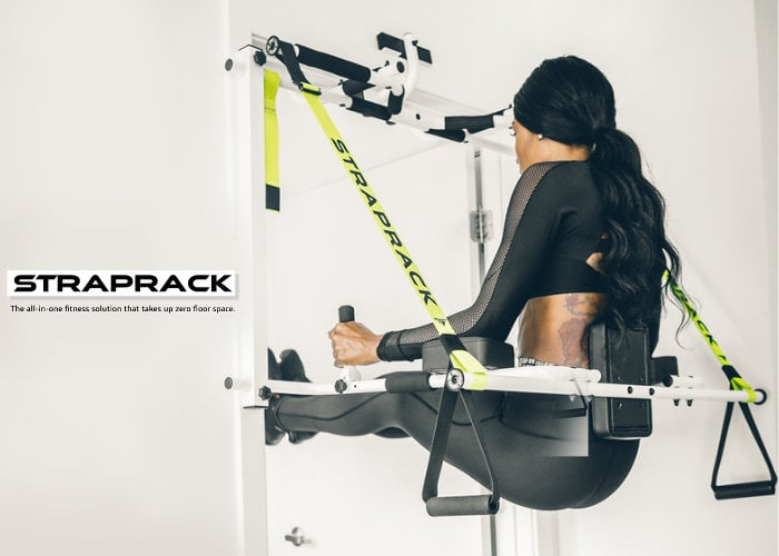 Affordable Straprack compact home gym