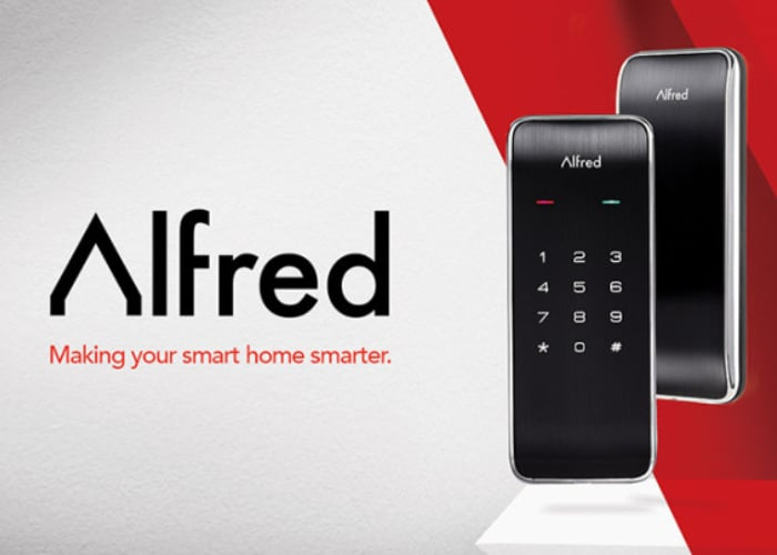 Alfred smart lock touchscreen deadbolt doorlock