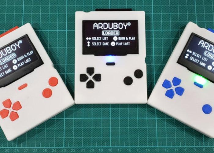 ArduBigBOY 8-bit Arduino handheld games console