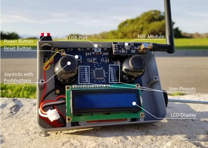 Arduino DIY pilot remote controller