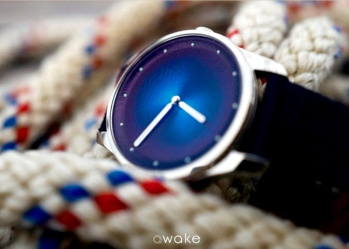 Awake Watch created to help stop ocean plastic pollution