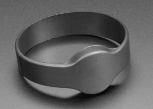 Blank RFID and NFC bracelet