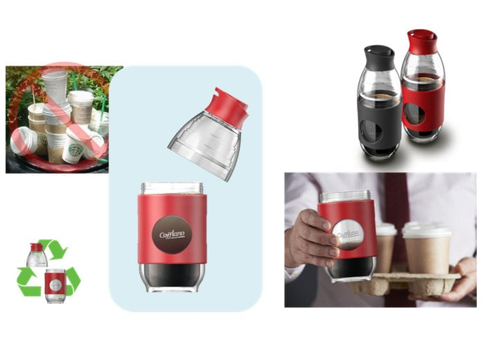 Cafflano portable coffee brewing bottle