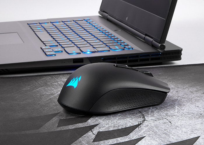 Corsair 1ms latency wireless gaming mouse