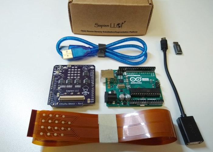 Cthulhu Shield Arduino open source sensory shield