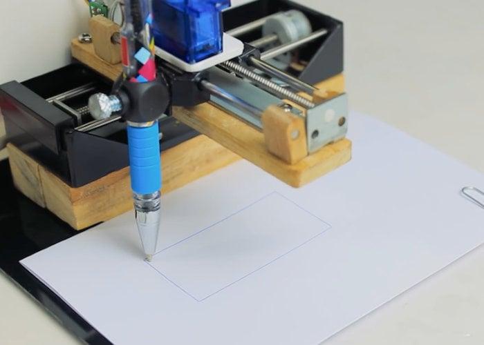 Mini Arduino DIY CNC drawing machine