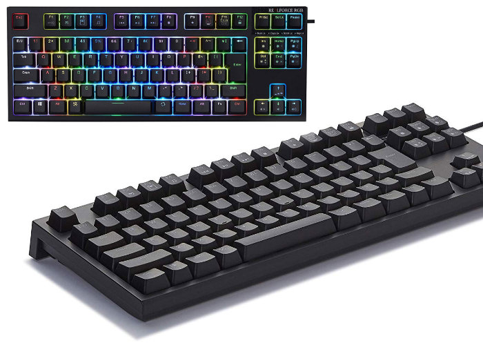 Fujitsu Realforce R2 RGB Premium gaming keyboard