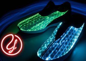 Glow LED sneaker
