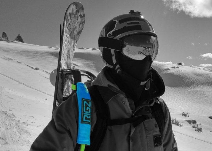 HIKIN' RIG multipurpose snowboard strap