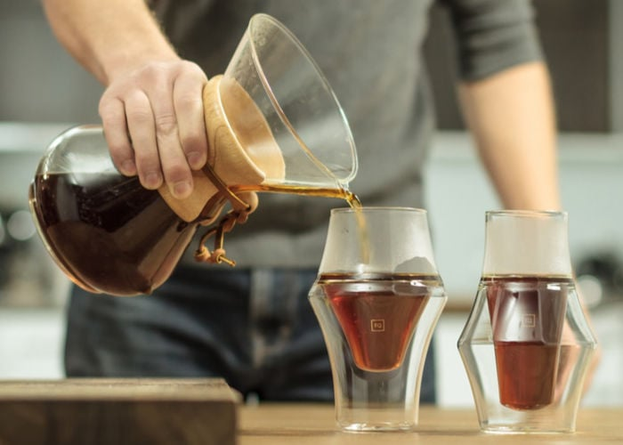 KRUVE EQ coffee glassware from $49