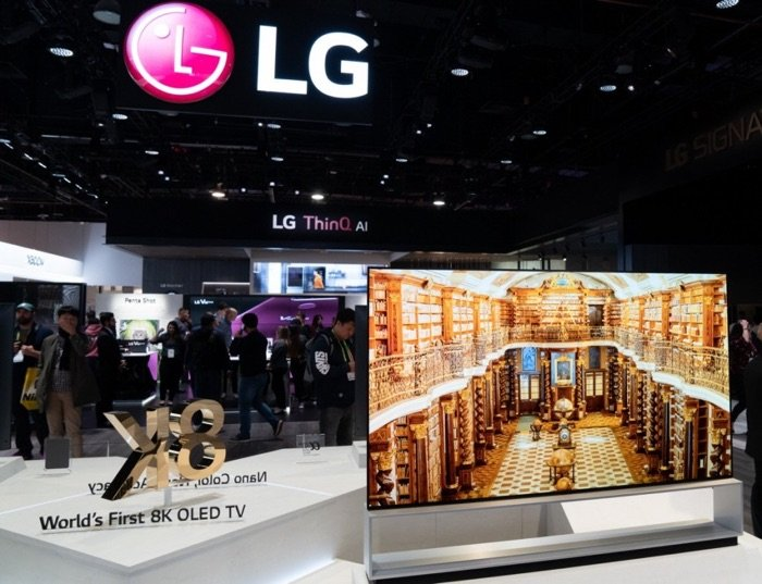 LG's 2018 financial results