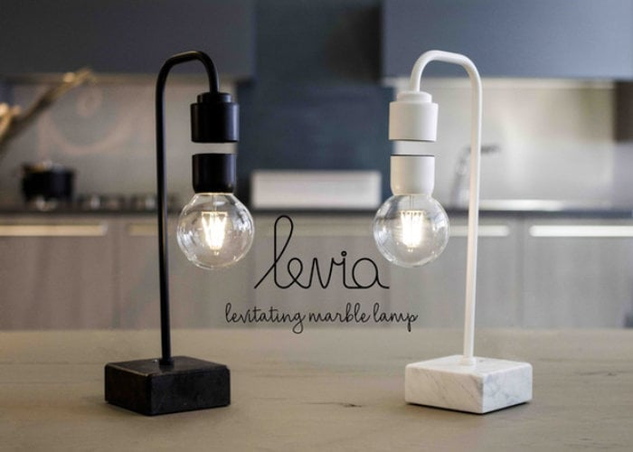 Levia Italian levitating lamp