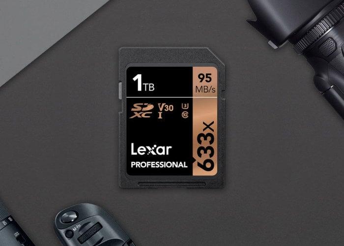 Lexar 1TB SDXC card