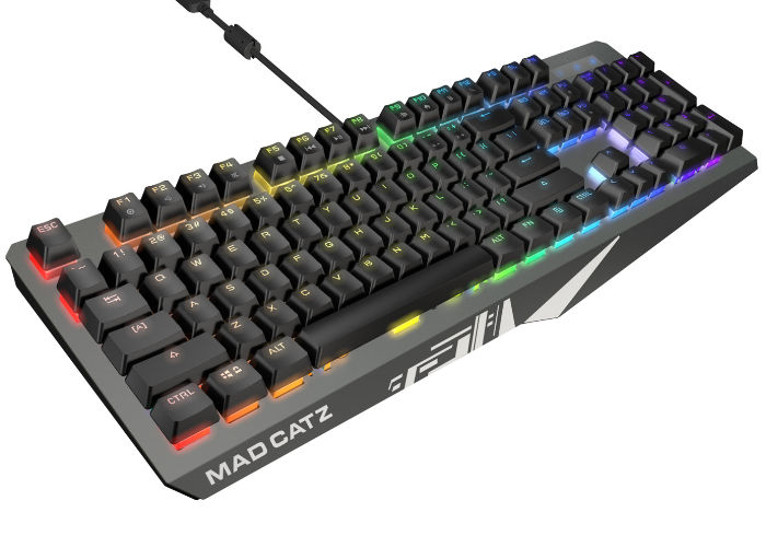 Mad Catz S.T.R.I.K.E. gaming keyboards