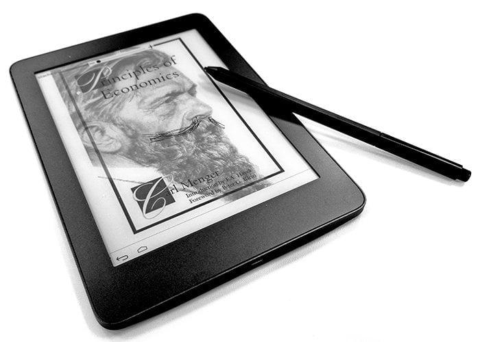 MobiScribe 6.8 E Ink notebook slate
