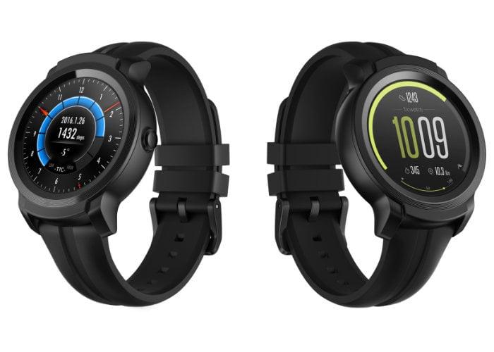 Mobvoi Wear OS smartwatches