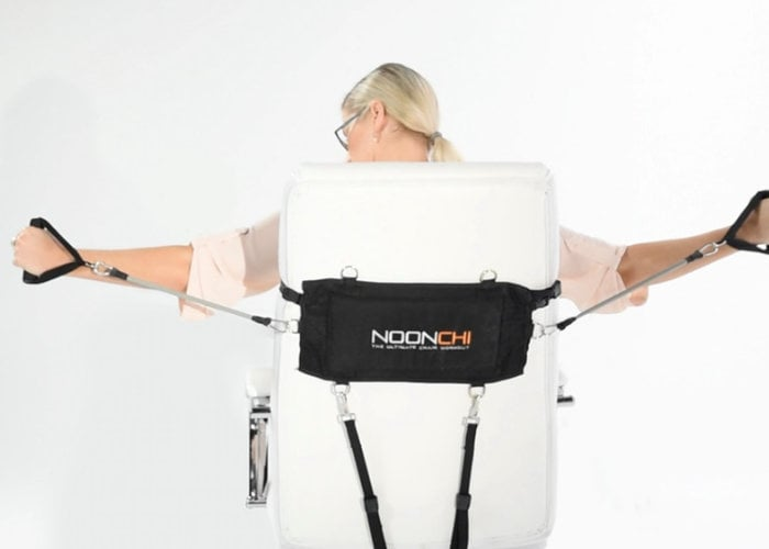 NOONCHI lets you work out from your chair