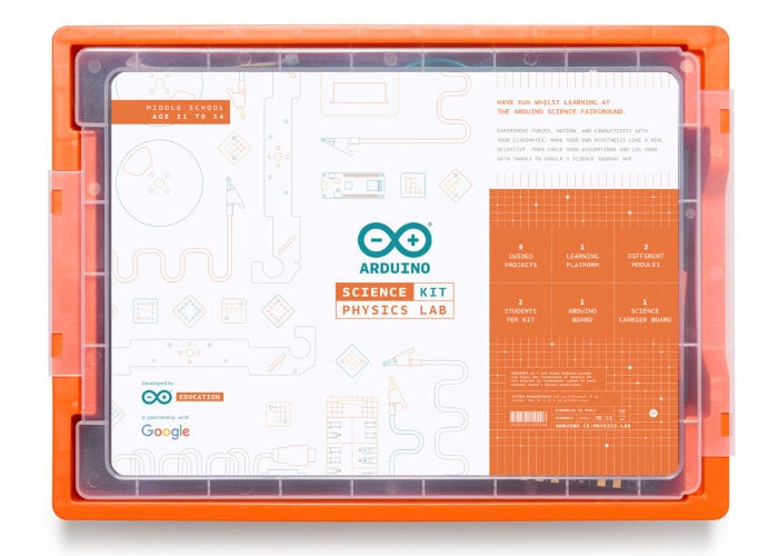 New Arduino Education Science Kit