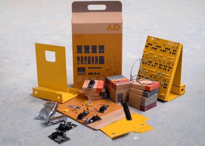 Teenage Engineering modular synthesisers