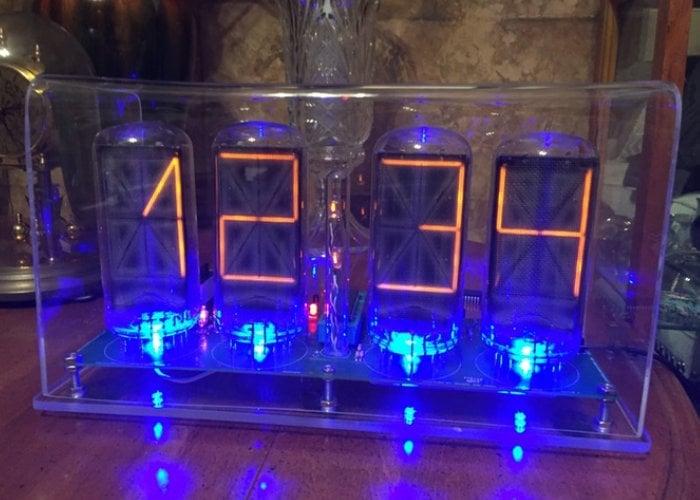 Nixie Clock VIII kit from $55