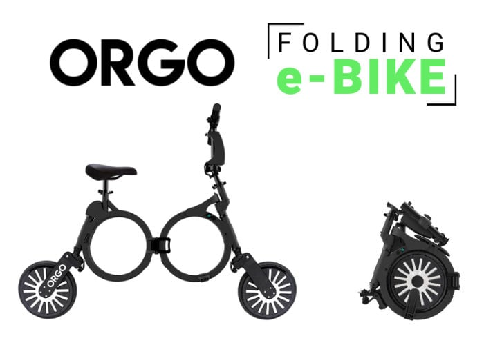 ORGO electric folding bike