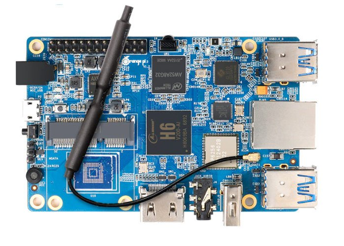 Orange Pi 3 Allwinner H6 mini PC