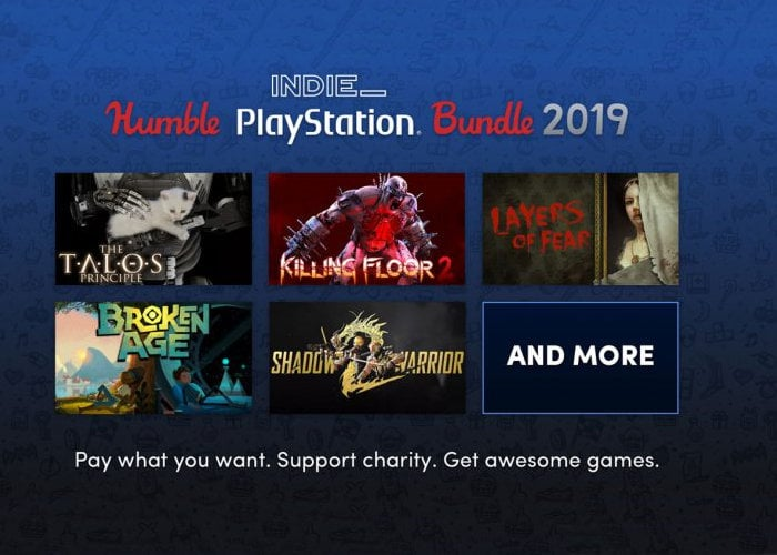 PS4 Humble Indie PlayStation Bundle 2019