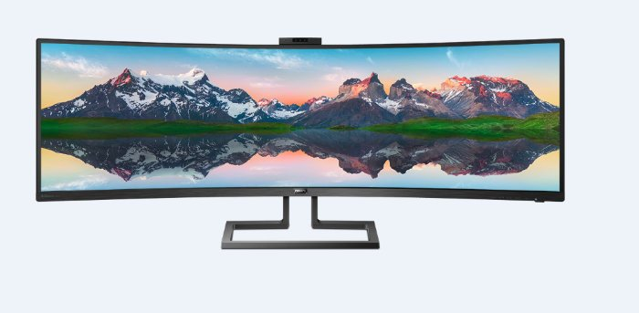 Philips 49 SuperWide Dual Quad HD curved monitor