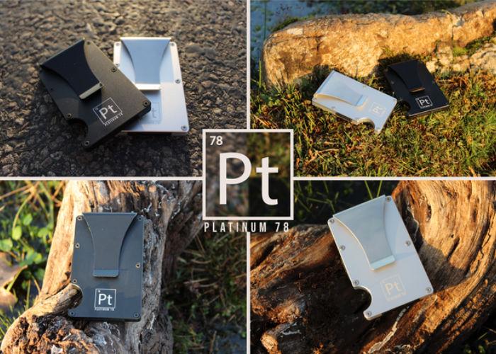 Platinum 78 slimline minimalist wallet