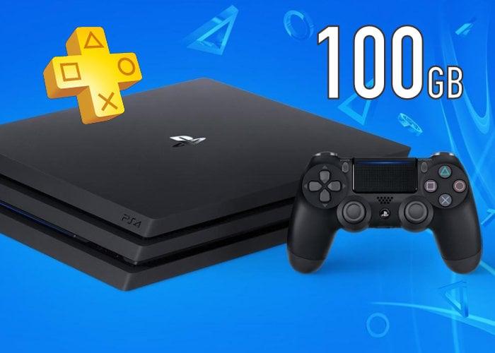 PlayStation Plus cloud storage 100GB