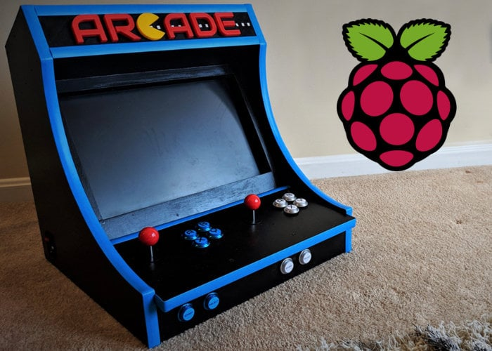 Raspberry Pi bar top arcade machine-29-01-2019
