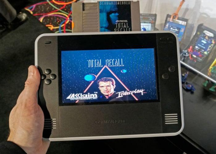 Retro Champ handheld game system