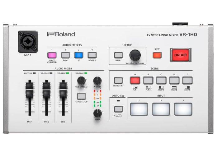 Roland VR-1HD professional camera mixing deck