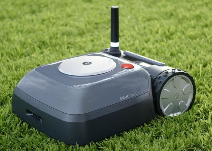 Roomba autonomous robot lawnmower