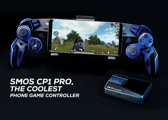 SMOS CP1 Pro smartphone game controller - Geeky Gadgets