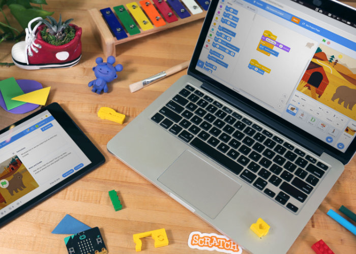 Scratch 3.0 visual programming