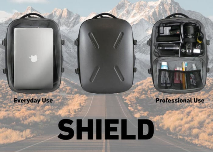 Shield hardshell backpack