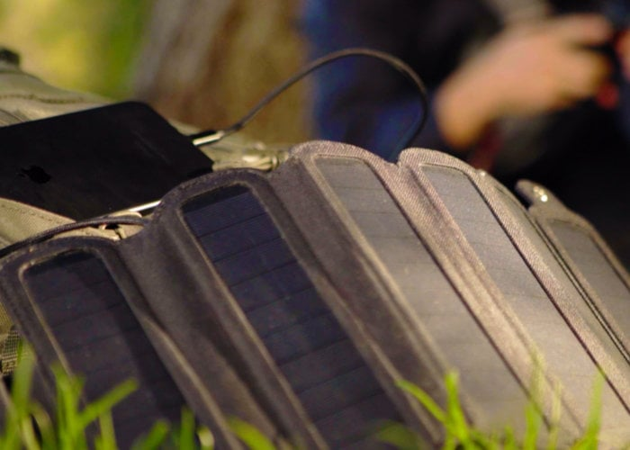 SolarCru rugged folding solar panel