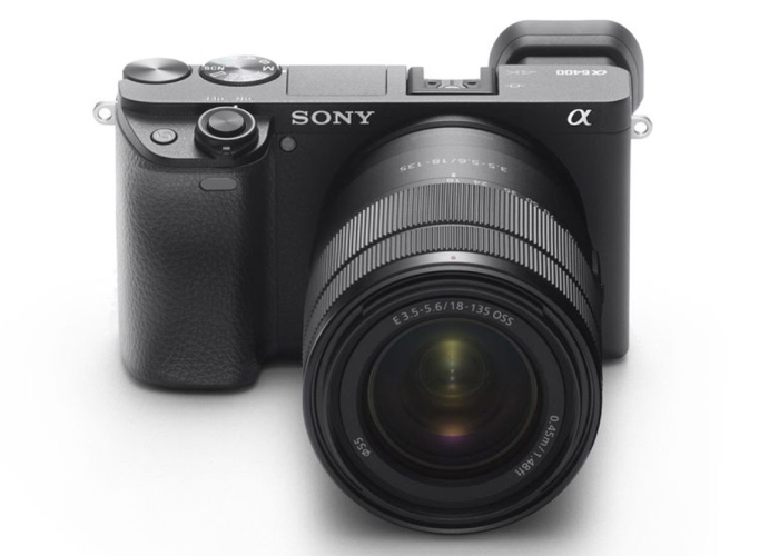 Sony A6400 mirrorless camera 4K 30 fps video, eye tracking and more