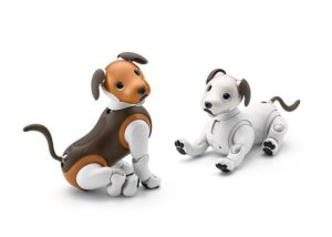 New Sony Aibo Choco Edition robot dog