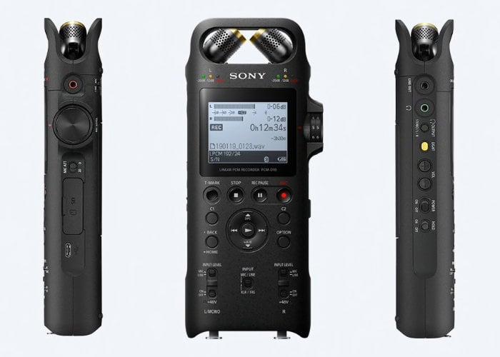 Sony PCM-D10 digital recorder