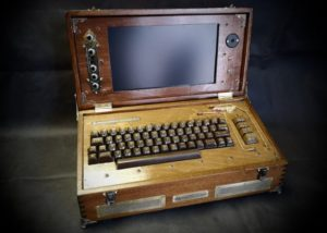 Steampunk Commodore 64 laptop