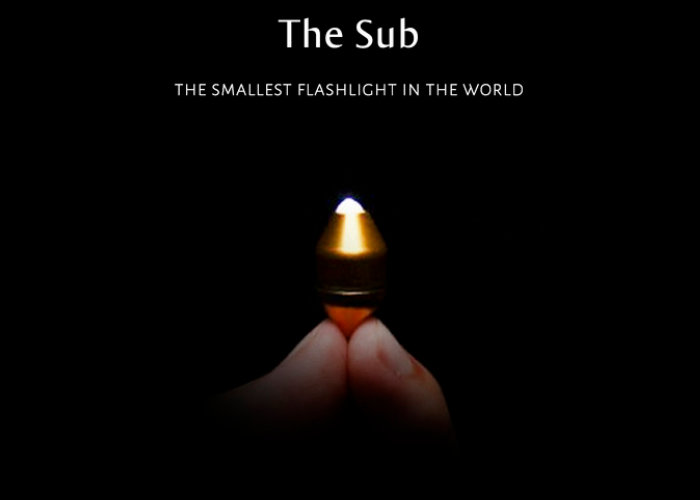 Sub the worlds smallest torch