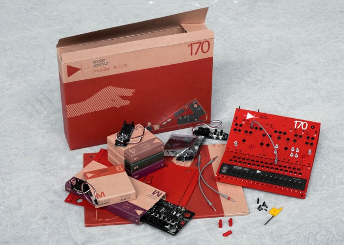 Teenage Engineering modular synthesis